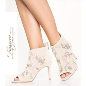 Gorgeous Vince Camuto Peep Toe Booties
